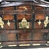 Camel hump steamer chest