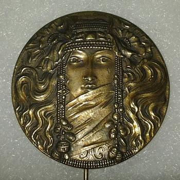 Brass pin?? - Costume Jewelry