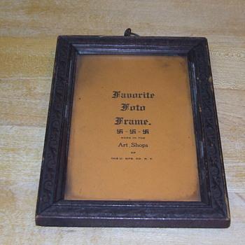 Favorite Foto Frame - Fine Art