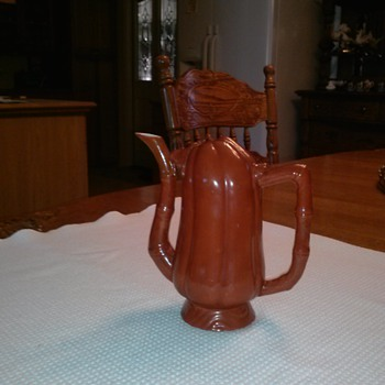 1760's teetotaller's teapot for liquor