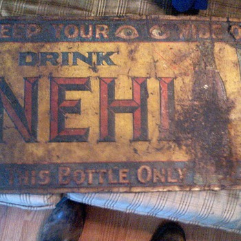 nehi soda sign - Signs
