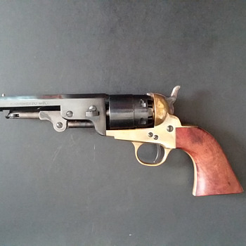 "Pietta ""reproduction"" Colt 1851 Navy revolver - Military and Wartime"