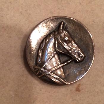Sterling Horse Head Pin - Fine Jewelry