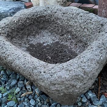 Basalt Trough - Native American