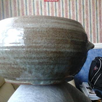stoneware bowl (William Marshall) ?? - Pottery