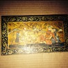 Hand painted Chinese wooden box