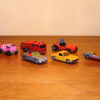 Matchbox, Siku and Corgi - Toys