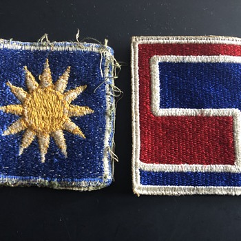 Army Patches from Korean War - Military and Wartime