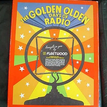 "Fleetwood ""The Golden Olden Days Of Radio"" full boxed set - Records"