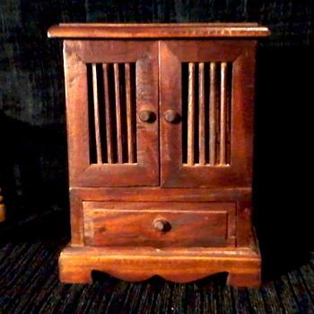 wooden jewelry box - Fine Jewelry