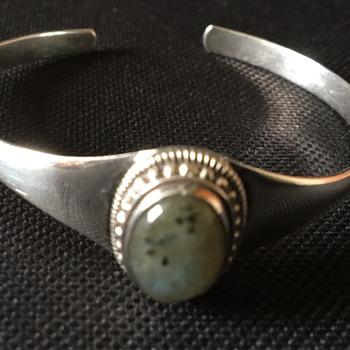 Vintage cuff bangle  - Fine Jewelry