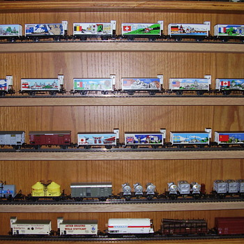 "Some of my Marklin collection ""O"", ""HO"" and ""Z"" scales. - Model Trains"