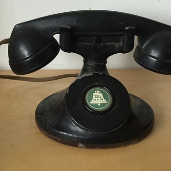 Antique Western Electric F1 Bell Systems Telephone - Telephones