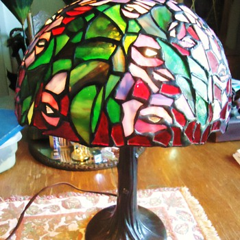 ItemPriceQtyTotal # 16721442 - Vintage Handcrafted Stained Glass Table Lamp$41.771$41.77 - Lamps