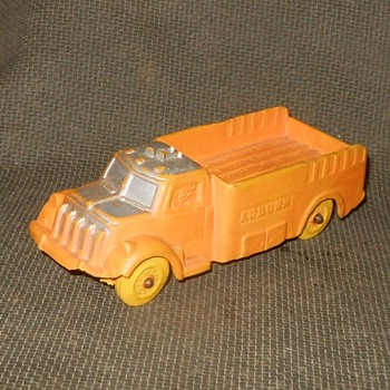 Auburn Rubber Toy Truck 1950s - Firefighting