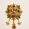 Vintage Florenza Ornate Victorian-Revival Brooch