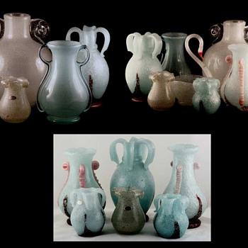 "Early ""Beranek Glassworks"" - The Seattle Connection   - Art Glass"