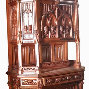 Modernist Neogothic buffet. - Furniture