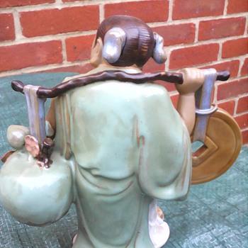 My Chinese mud man lady - Figurines