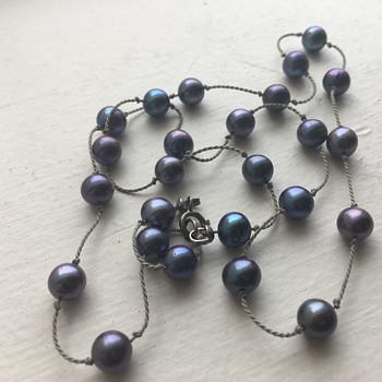 Black Akoya, Black Tahitian, or Black Freshwater Pearls? - Fine Jewelry