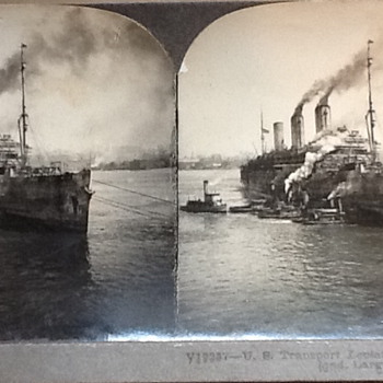 U.S. Transport Leviathan - Photographs