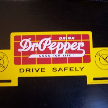 10-2-4 Dr. Pepper License Plate Topper - Signs