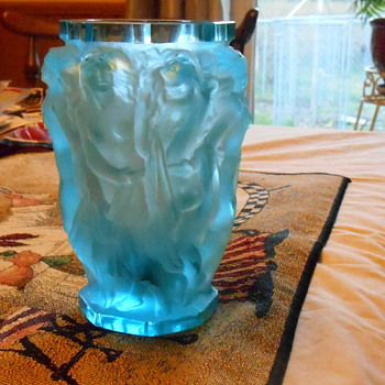 Very favorite Czechoslovakian Vase  - Art Glass