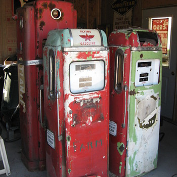 Old Gas Pumps - Petroliana