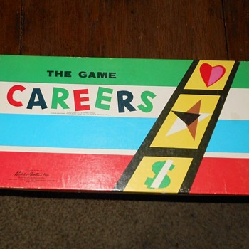 The Game of Careers Parker Brothers 1955