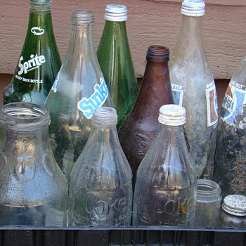 Soda soda & more soda - Bottles