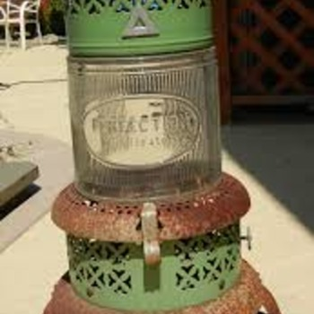 Old Perfection Kerosene Heater with original glass