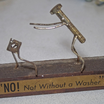 """No ! Not without a washer"" - Tools and Hardware"