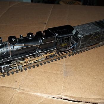 VINTAGE STEAM 2-8-0 PENNSYLVANIA ( NO OTHER BRANDINGS)   - Model Trains