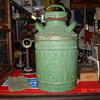 Sinclair Embossed Five Gallon Oil Can