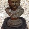 Woman Bust Lamp