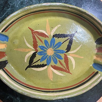 Two Mexican Platters - Pottery