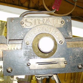 STRAIT BOOM SCALE - Tools and Hardware