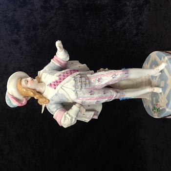 Does anyone recognise this chap?! Meissen? Crossed Swords Mark.
