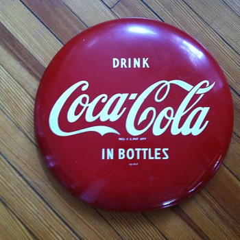 "16"" Drink Coca-Cola in Bottles sign - Coca-Cola"