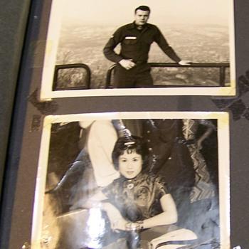 Korean Entertainers???    1959-1960's From Serviceman Album - Photographs