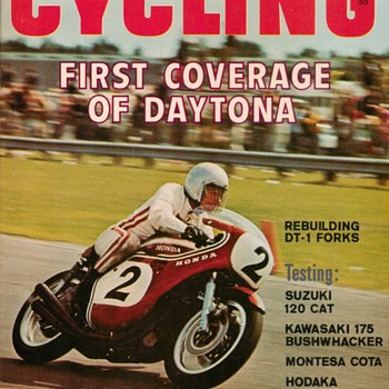 1970 - Popular Cycling Motorcycle Magazine
