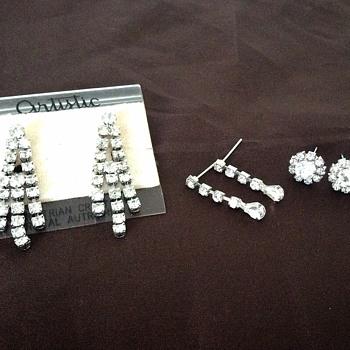 Crystal earings!