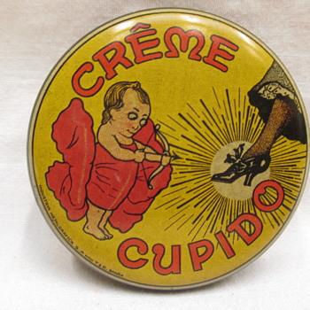 Cupido Shoe cream advertising tin 1920s - Advertising