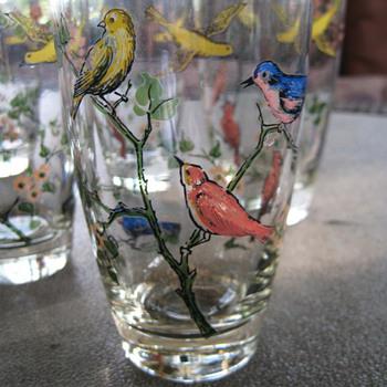 Flying Glasses - Glassware