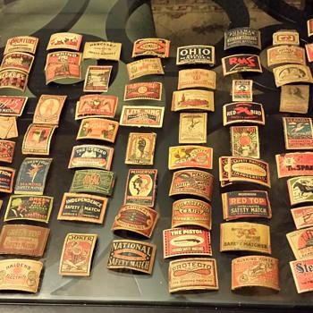 Antique Matchbox Covers - Tobacciana
