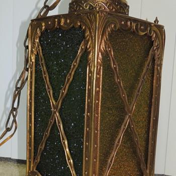 Hanging Brass Lamp - Lamps