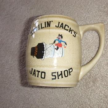 Korean War Air Force Souvenir Mug