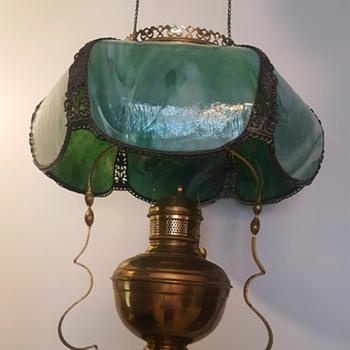 Hanging Oil Lamp - Lamps
