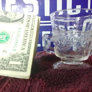Pressed Glass goblet??? Antique?? - Glassware
