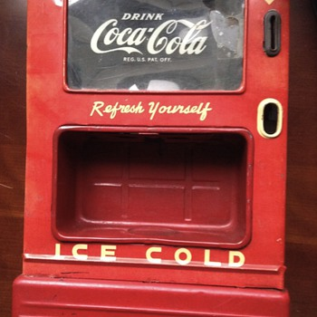 1950s coca cola dispenser bank - Coca-Cola